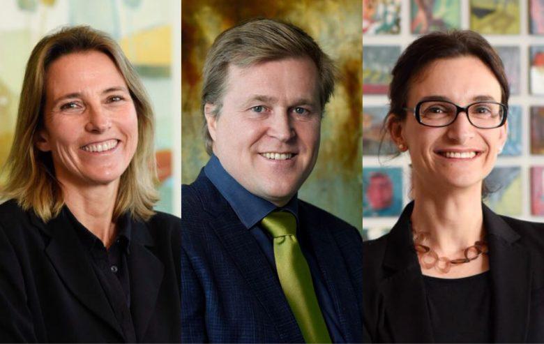 Nuevos directores de ICARE 2018 Agathe Porte, Susana Claro y Holger Paulmann