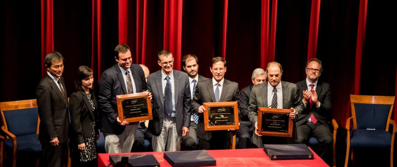 Premio ICARE 2017: Juan Sutil, Antofagasta Minerals y ALMA son reconocidos por su contribución al país