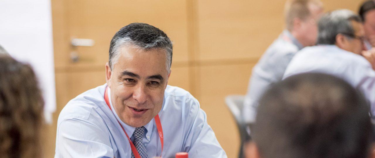 """Claudio Muñoz: """"Asumo la presidencia de ICARE con un sentido de gran responsabilidad"""""""