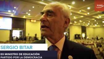 """ENADE 2017 · Sergio Bitar: """"Me gustaría un empresariado que no se adscriba sólo a una línea ideológica"""""""