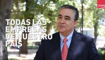 """Claudio Muñoz, presidente de ICARE: """"Nuestra preocupación es con todas las empresas del país"""""""