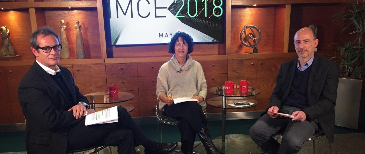 Confianza empresarial · Análisis en vivo del IMCE de mayo 2018