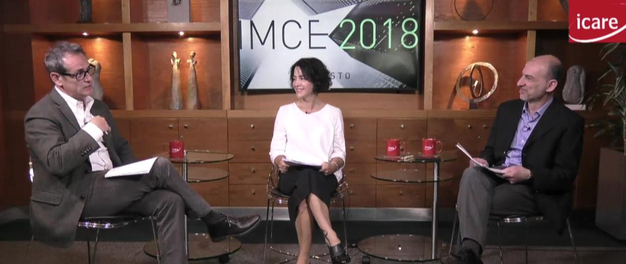 Confianza empresarial · Análisis en vivo del IMCE de agosto 2018