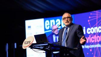 """Carlos Montes en ENADE 2018: """"Sin fortaleza institucional, no hay progreso"""""""