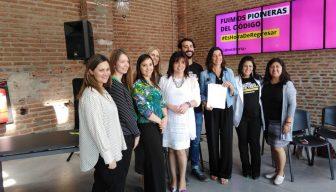 """María Elena Sanz: """"La alianza entre Laboratoria y Promociona Chile ayudará a las mujeres a potenciar su liderazgo"""""""