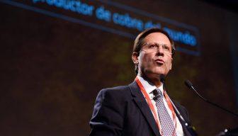 """Iván Arriagada: """"El cobre es la clave para la economía del futuro: sustentable, limpio y bajo en emisiones""""."""