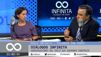 """Claudio Muñoz en Radio Infinita: """"Si no ponemos la paz por delante, da lo mismo que conversemos de las empresas y cómo nos transformamos"""""""