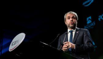"""Ministro Blumel en ENADE 2020: """"La discusión política en los últimos 15 años era crecimiento o desigualdad y no pusimos el foco en las instituciones"""""""