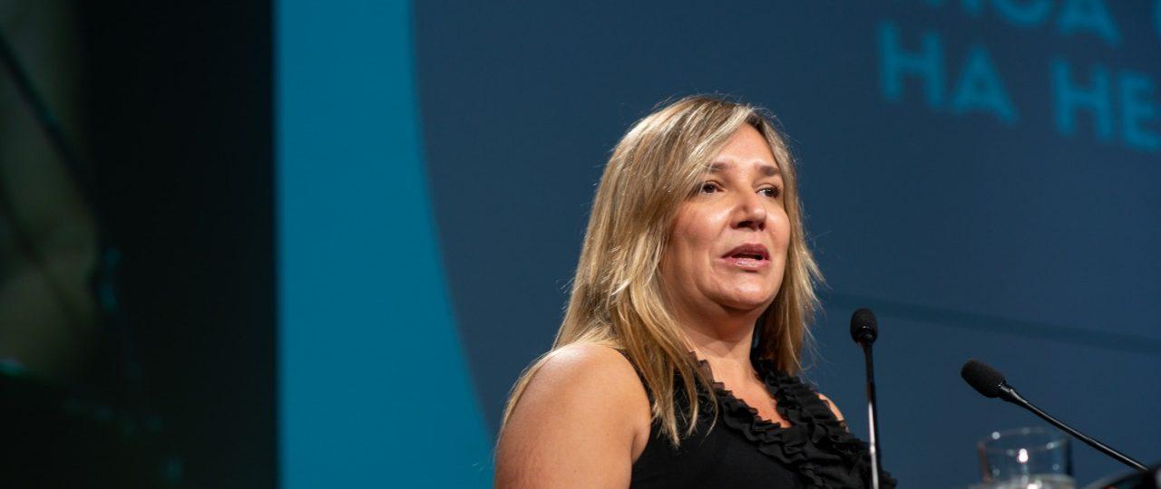 """Diputada Hoffmann en ENADE 2020: """"Los empresarios no pueden seguir mirando de lejos, tienen que influir, porque sin legitimidad social van a tener problemas"""""""