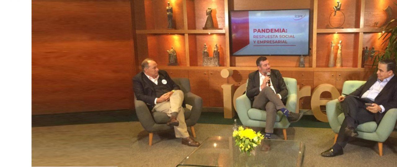 """Revive el streaming · """"PANDEMIA: Respuesta social y empresarial"""""""
