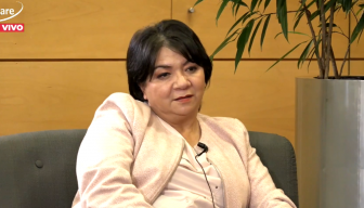 """Claudia Pizarro en el Ciclo """"En Persona"""" de ICARE: """"Hoy día está naciendo una fuerza muy poderosa en la gente que se siente llamada a ser solidaria con el otro"""""""