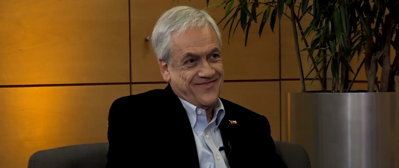 Revive EN PERSONA, invitado Excmo. Señor Sebastián Piñera, Presidente de la República de Chile