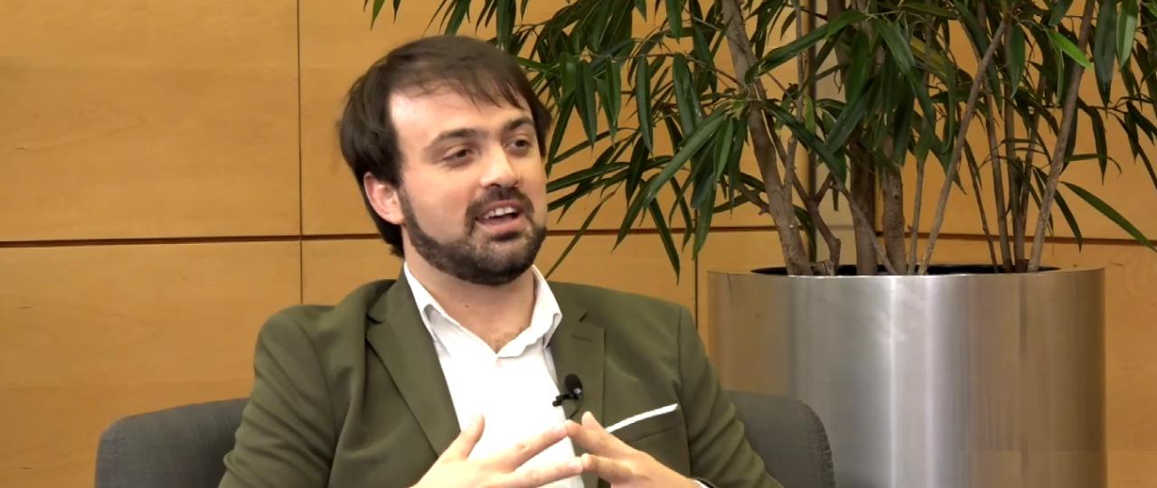 """Jorge Sharp en el Ciclo """"En Persona"""" de ICARE: """"El proceso constituyente es una posibilidad interesante para poder constituir nuevas realidades"""""""