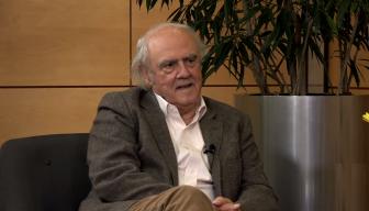 Revive EN PERSONA · Cristián Warnken junto a Agustín Squella, profesor de Filosofía del Derecho de la Universidad de Valparaíso