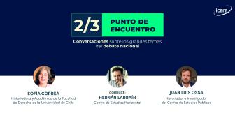 """""""2/3: punto de encuentro"""" – Capítulo 1: El constitucionalismo chileno a través de la historia y desde la mirada de Sofía Correa y Juan Luis Ossa"""