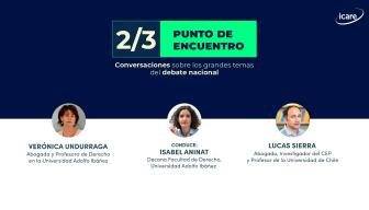 """""""2/3: punto de encuentro"""" – Capítulo 4: Verónica Undurraga y Lucas Sierra detallan los elementos más importantes del funcionamiento de la constituyente"""