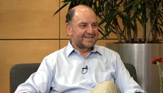Revive EN PERSONA, Cristián Warnken junto al Ministro Alfredo Moreno