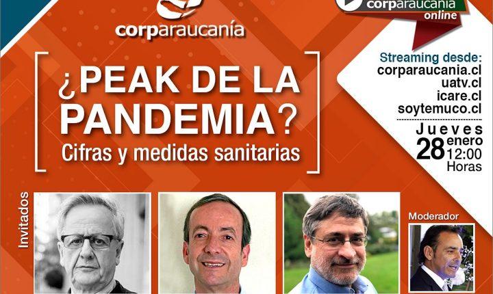 ¿Peak de la Pandemia? Hoy a partir de las 12:00 hrs · Transmite Corparaucanía
