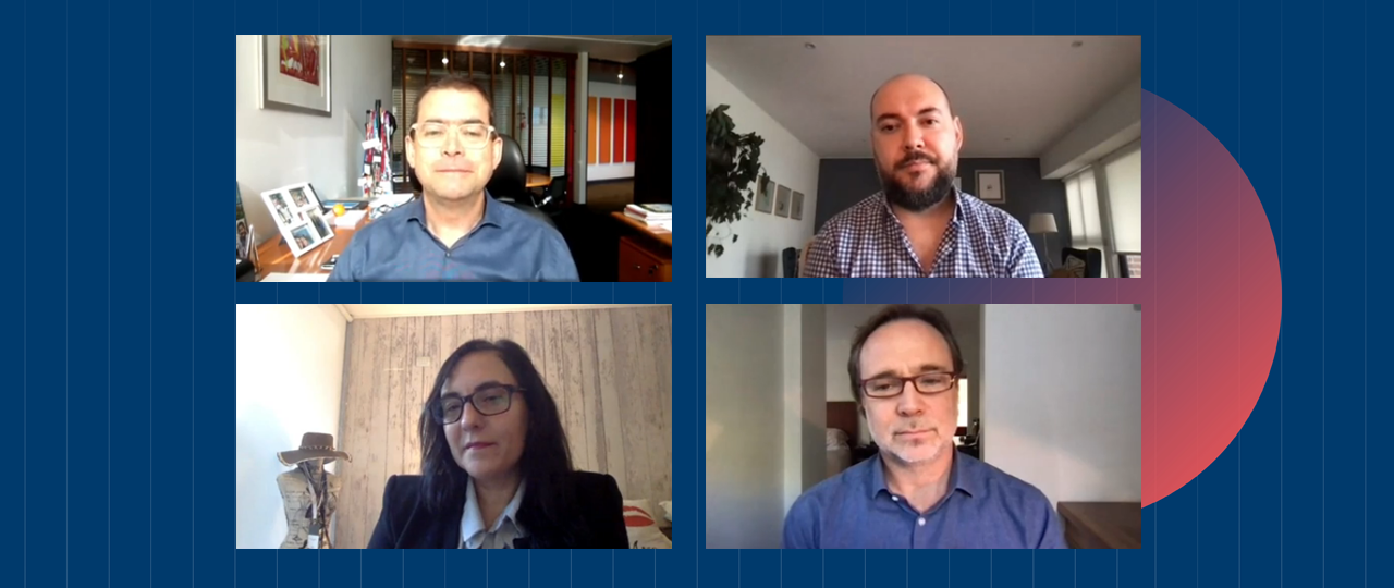 Ciclo de Marketing 2021 – Primer capítulo: Francisco Carvajal, Mariana Caperochipe y Cristián García profundizan en el nuevo escenario de los medios de comunicación