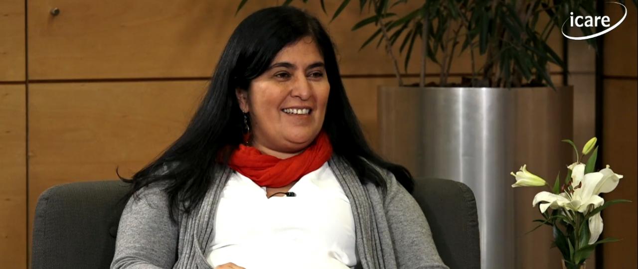 """Lorena Céspedes en el ciclo """"En Persona"""" de ICARE: """"Queremos hacer un nuevo tipo de política y crear distintos sistemas de diálogo y acuerdos"""""""