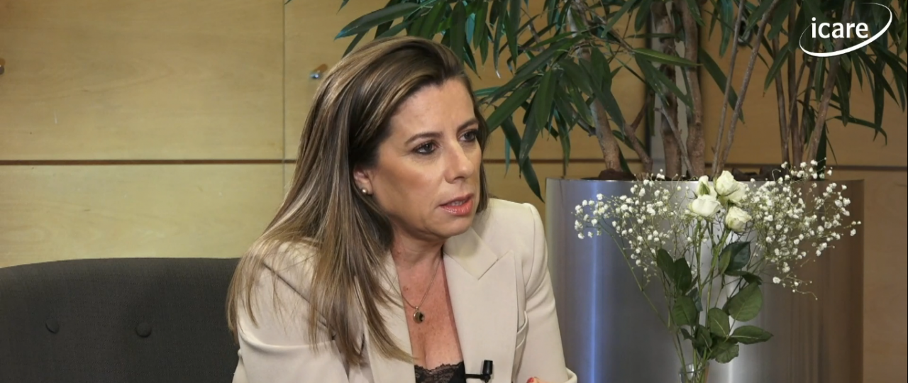 """Teresa Marinovic en el ciclo """"En Persona"""" de ICARE: """"Es fundamental que seamos capaces de plantear propuestas que le hagan sentido a la ciudadanía"""""""