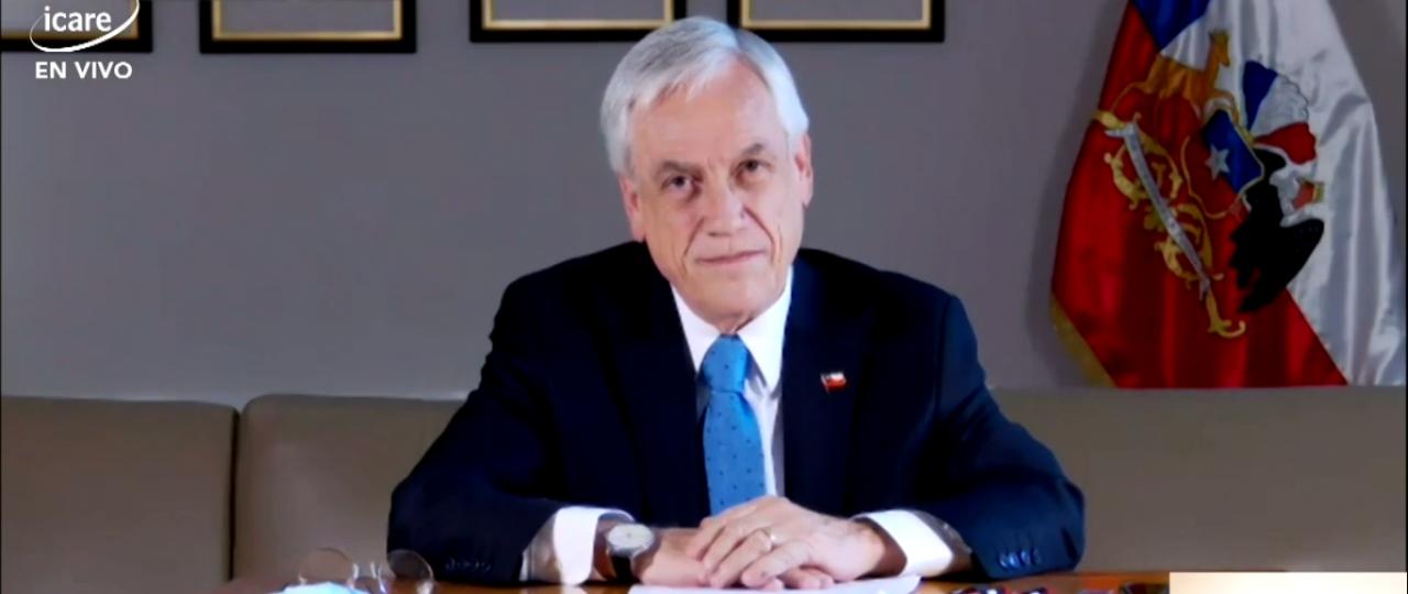 """Sebastián Piñera en ENADE 2021: """"Estamos viendo una luz al final del túnel, lo mejor está por venir"""""""