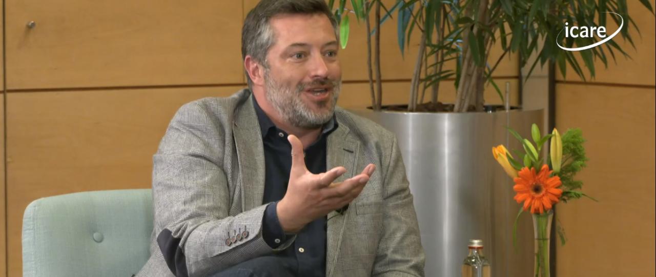 """Sebastián Sichel en el ciclo """"En Persona"""" de ICARE: """"Tenemos que empezar un nuevo ciclo donde la colaboración sea la regla"""""""