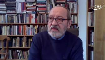 """Sergio Muñoz Riveros en el ciclo """"En Persona"""" de ICARE: """"Debemos evitar que los fanáticos, aquellos que no están dispuestos a reconocer al otro, conquisten posiciones de poder"""""""